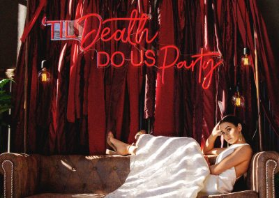 Til Death Do Us Party Neon sign