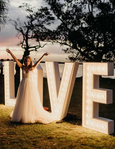 love sign light up letters